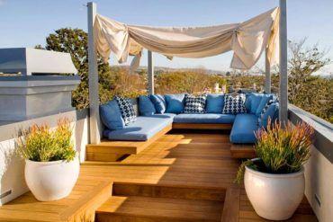 Çatı Katı Balkon Ve Teras Dekorasyon Fikirleri 6