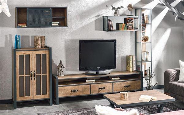 alfemo mobilya yeni tasarım tv Ünite modelleri - alfemo Brooklyn tv unitesi - Alfemo Mobilya Yeni Tasarım Tv Ünite Modelleri