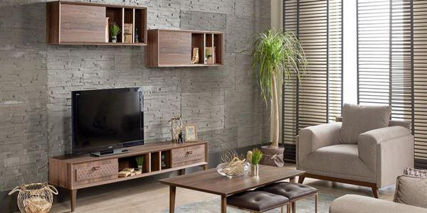 alfemo mobilya yeni tasarım tv Ünite modelleri - alfemo Gravity tv unitesi - Alfemo Mobilya Yeni Tasarım Tv Ünite Modelleri