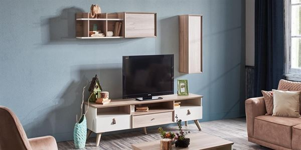 alfemo mobilya yeni tasarım tv Ünite modelleri - alfemo Vancouver tv unitesi - Alfemo Mobilya Yeni Tasarım Tv Ünite Modelleri