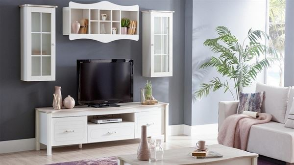 alfemo mobilya yeni tasarım tv Ünite modelleri - alfemo alacati tv unitesi - Alfemo Mobilya Yeni Tasarım Tv Ünite Modelleri
