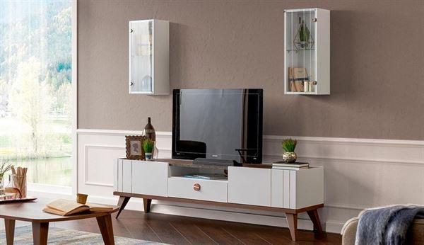alfemo mobilya yeni tasarım tv Ünite modelleri - alfemo arven tv unitesi - Alfemo Mobilya Yeni Tasarım Tv Ünite Modelleri
