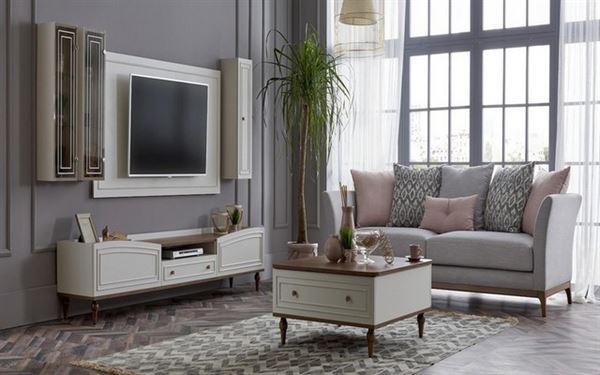 alfemo mobilya yeni tasarım tv Ünite modelleri - alfemo catharina tv unitesi - Alfemo Mobilya Yeni Tasarım Tv Ünite Modelleri