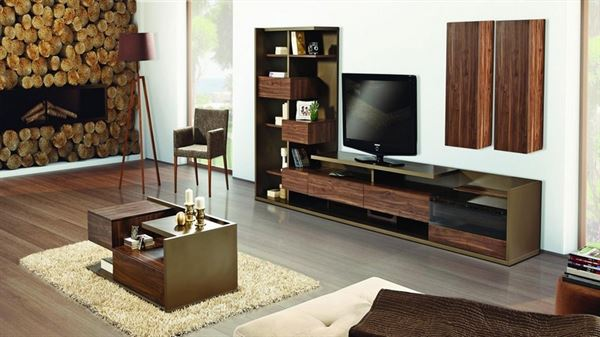 alfemo mobilya yeni tasarım tv Ünite modelleri - alfemo escuda tv unitesi - Alfemo Mobilya Yeni Tasarım Tv Ünite Modelleri