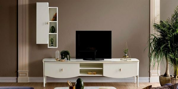 alfemo mobilya yeni tasarım tv Ünite modelleri - alfemo freya tv unitesi - Alfemo Mobilya Yeni Tasarım Tv Ünite Modelleri