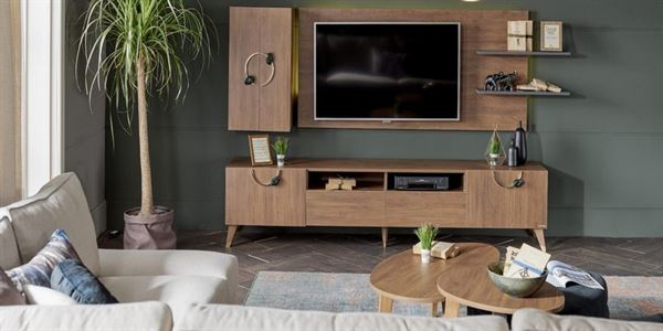 alfemo mobilya yeni tasarım tv Ünite modelleri - alfemo infinity tv unitesi - Alfemo Mobilya Yeni Tasarım Tv Ünite Modelleri
