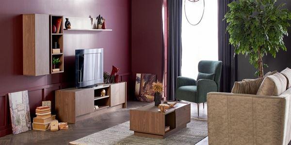 alfemo mobilya yeni tasarım tv Ünite modelleri - alfemo loren tv unitesi - Alfemo Mobilya Yeni Tasarım Tv Ünite Modelleri