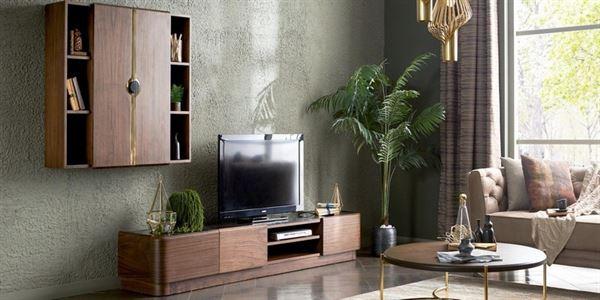 alfemo mobilya yeni tasarım tv Ünite modelleri - alfemo marvin tv unitesi - Alfemo Mobilya Yeni Tasarım Tv Ünite Modelleri