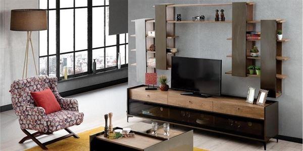 alfemo mobilya yeni tasarım tv Ünite modelleri - alfemo metropol tv unitesi - Alfemo Mobilya Yeni Tasarım Tv Ünite Modelleri