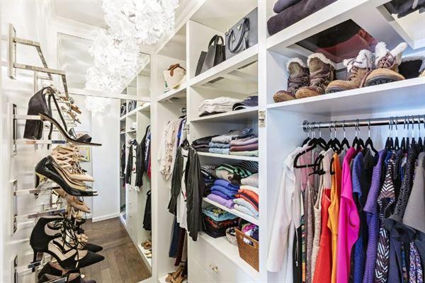 giyim odası dolap modeli