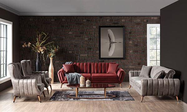 weltew mobilya modern koltuk takımı
