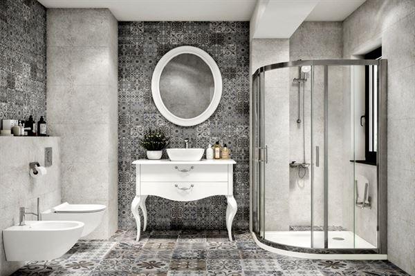 modern dekoratif banyo
