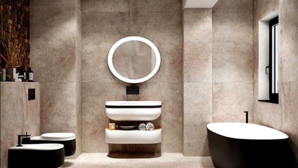 Aynı Banyo Alanını Farklı Farklı Tasarımlar İle Dekore Etmek