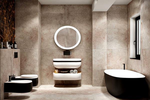 Aynı Banyo Alanını Farklı Farklı Tasarımlar İle Dekore Etmek 6