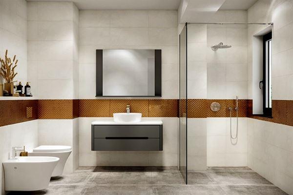 modern banyo dekorasyon