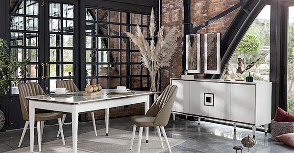 Konfor Mobilya Yeni Yemek Odası Modelleri