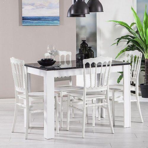 beyaz yemek masa takimi