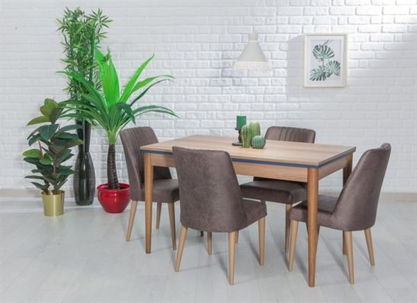 yemek masasi sandalye ahsap
