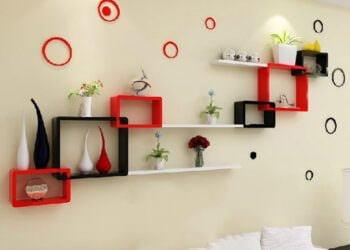 renkli-duvar-raf-susleme-fikirleri
