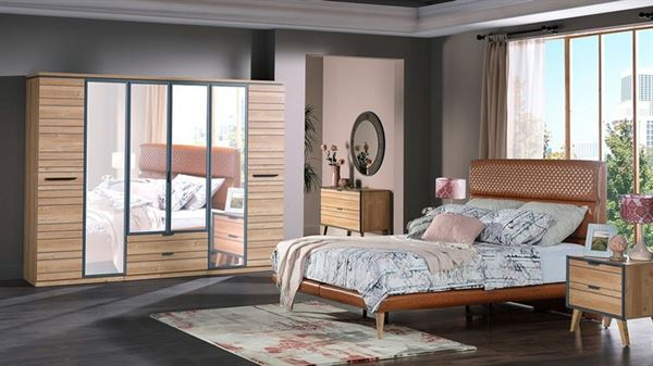 istikbal indigo yatak odası