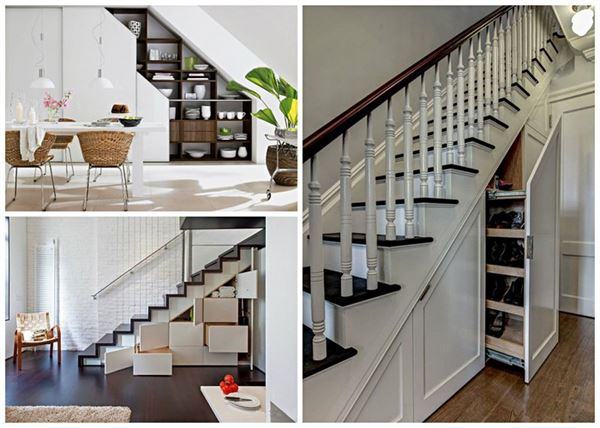 merdiven saklama alanları