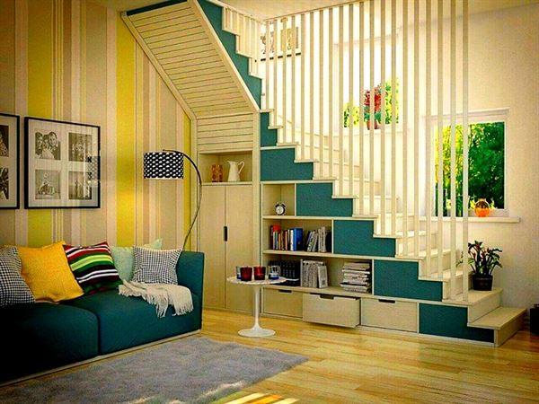 merdiven altı depolama alanları
