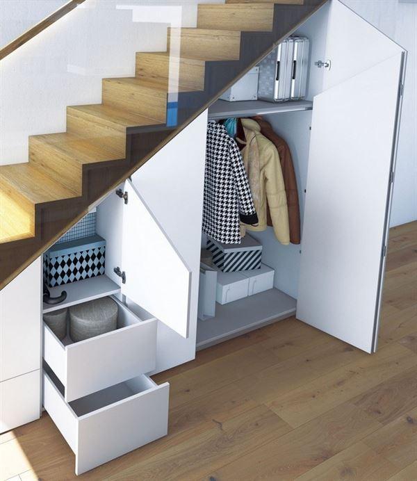 merdiven dolap çekmece