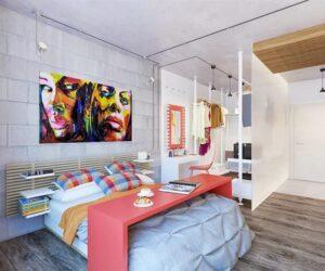 Yeni Nesil Genç Kız Çocuk Odası Dekorasyonları