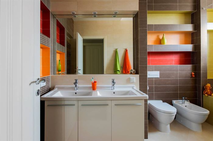 banyo duvar raf modelleri