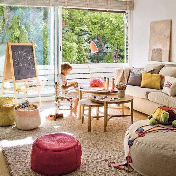 Çocuklar İçin Güvenli Oturma Odası