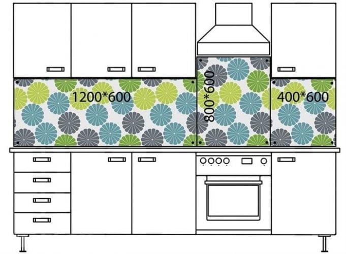 Mutfak Tezgah Arkası Duvar Fayans ölçüsü