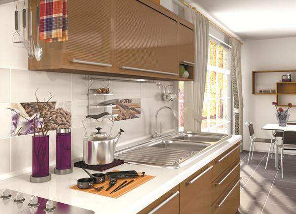 Mutfak Tezgah Arkası Duvar Fayans Modelleri