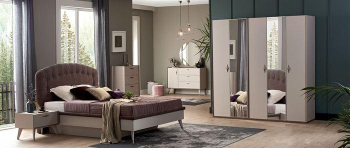 Alfemo Mobilya 2020 Yatak Odası Takımları 4