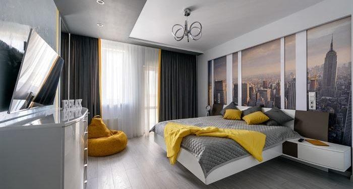 Aydınlık Yatak Odası Dekorasyonu