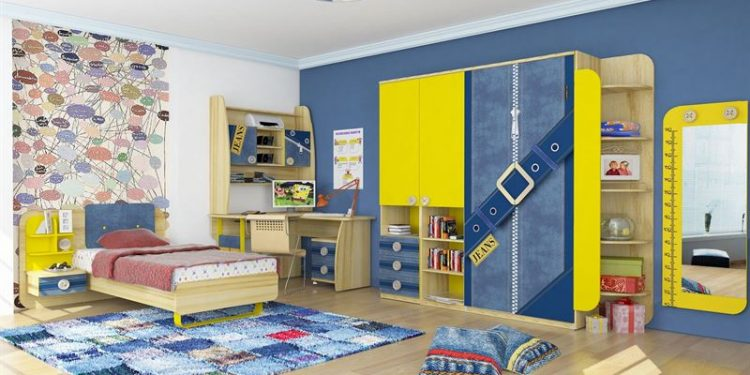 çocuk odası dekorasyon