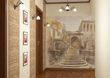 Koridor için duvar dekorasyonu