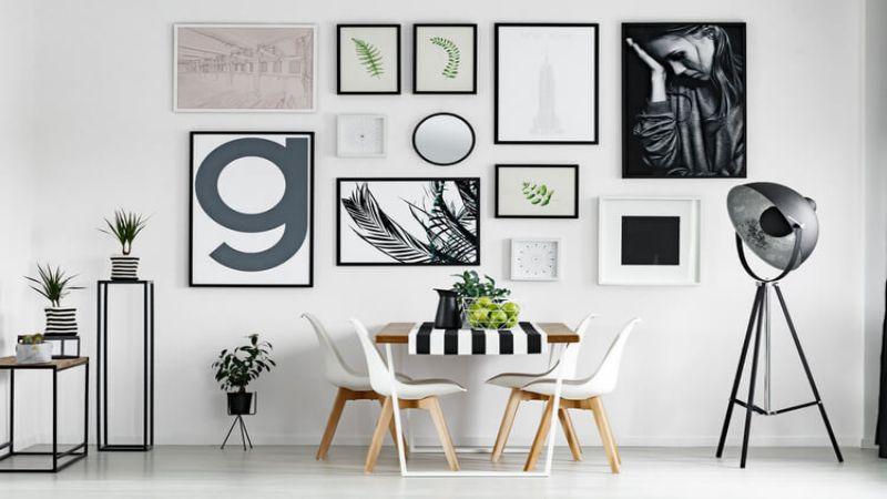 Duvarlar tablo asma düzenleme