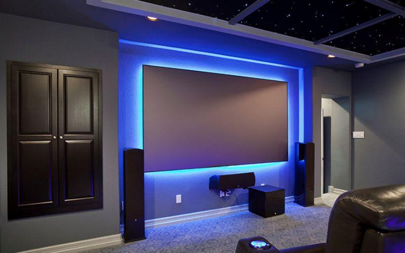 Led Aydınlatmalı Tv Duvar Ünite