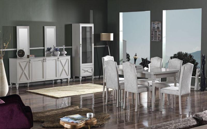 İpek Mobilya 2021 Yemek Odası Modelleri