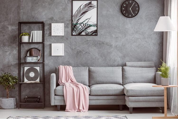 küçük oturma odası dekorasyon