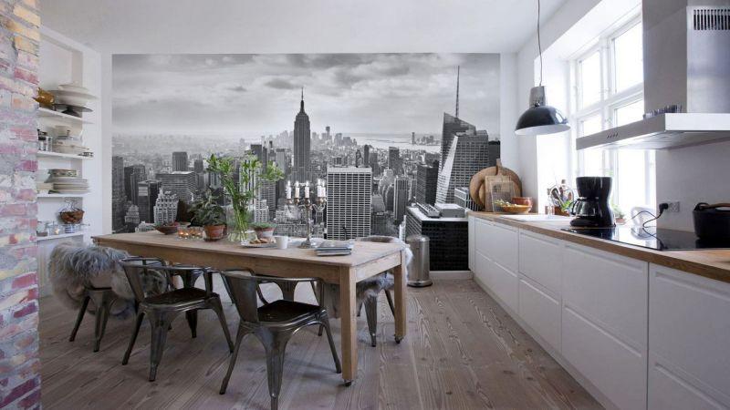 Mutfak İçin Duvar Kağıdı Modelleri