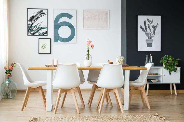 yemek masası dekore etme
