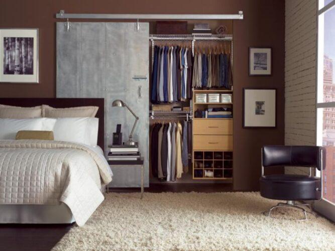Yatak Odasına Giyinme Odası